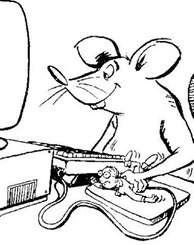 mouse using human mouse